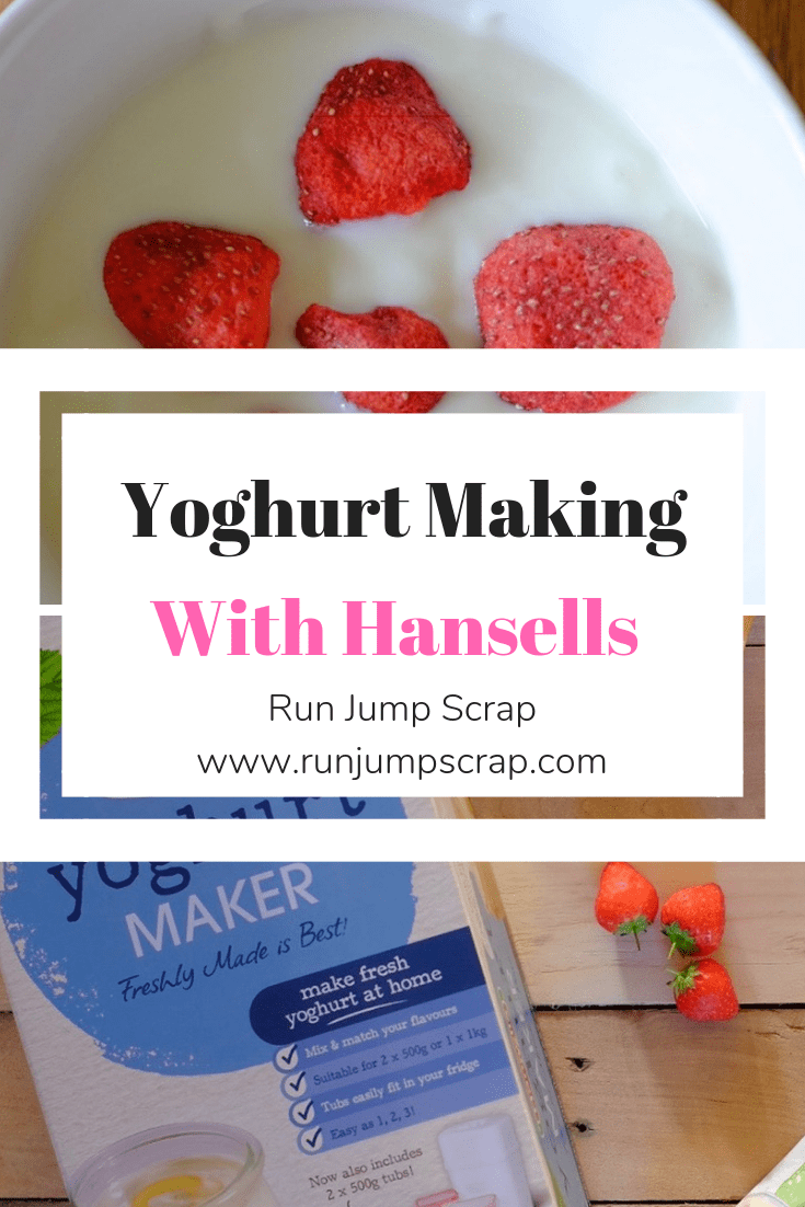 yoghurt making with Hansells