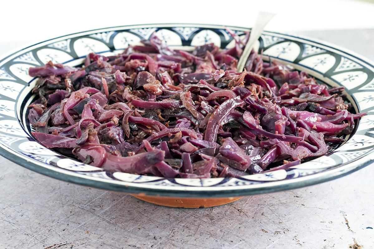 Easy Christmas red cabbage