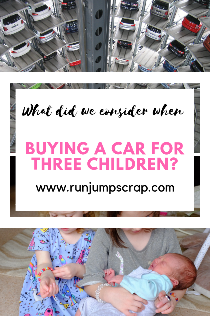 what did we consider when buying a car for three children