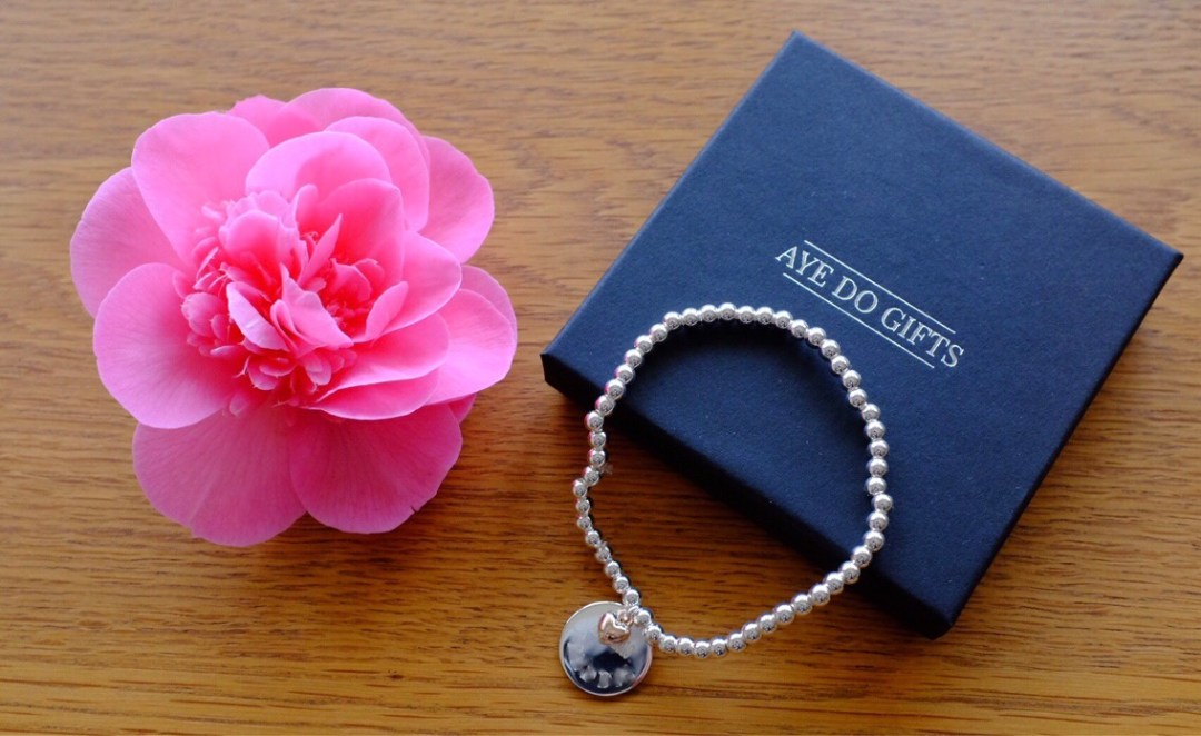 personalised bracelet from getting personalised.co.uk