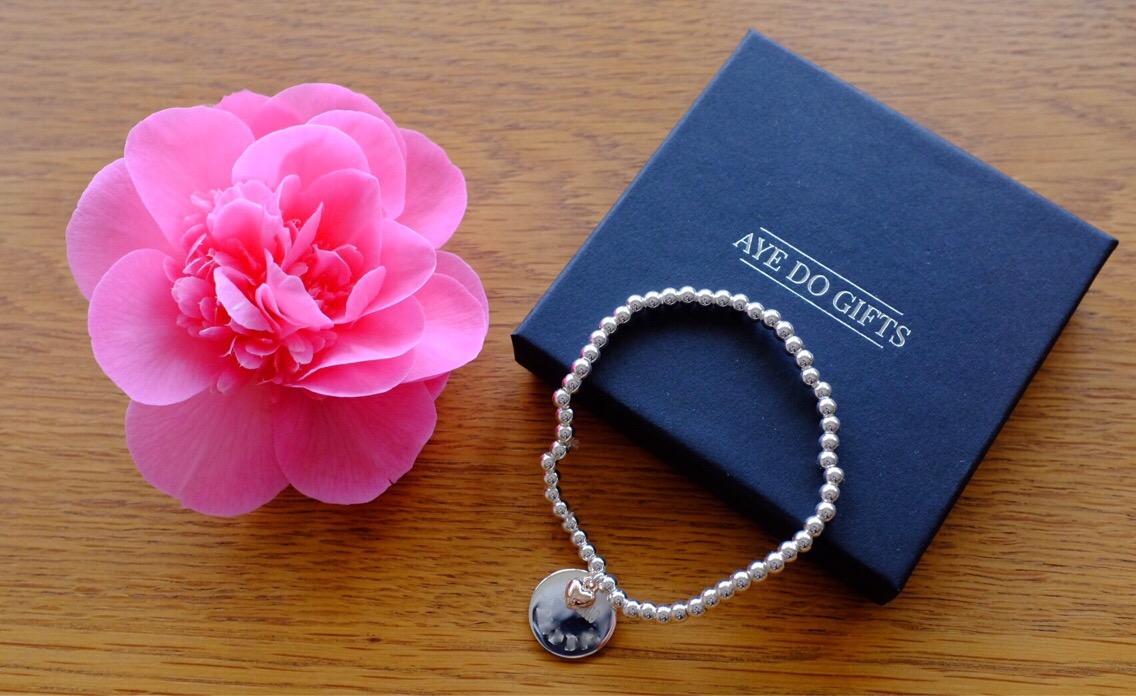 personalised bracelet from getting personalised.co.uk