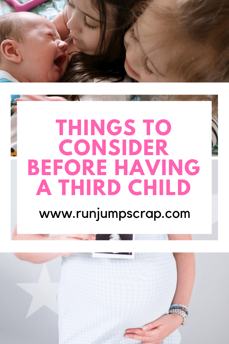 Things to consider before a third child