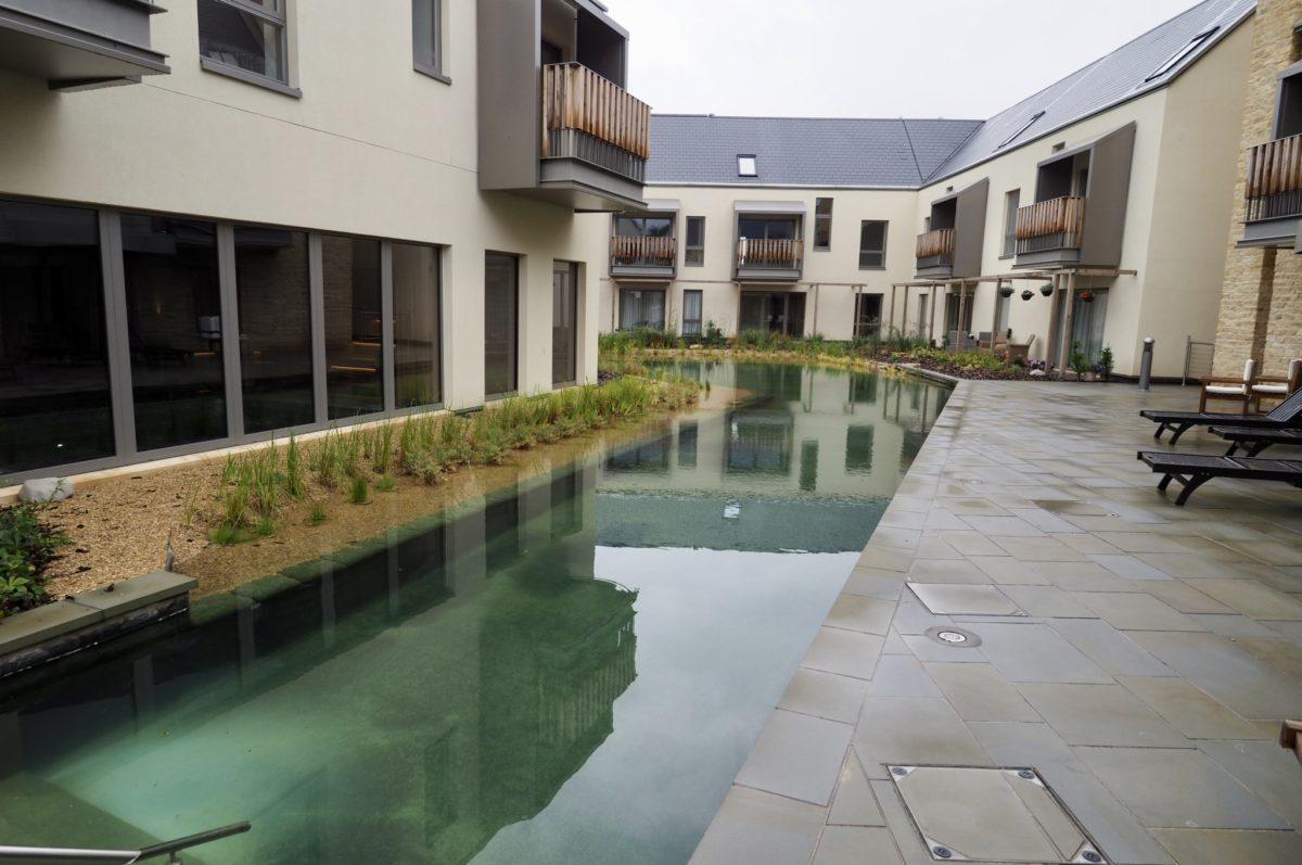 outdoor pool Pegasus life