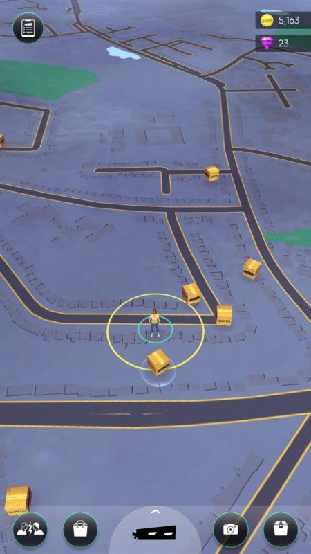 snatch map