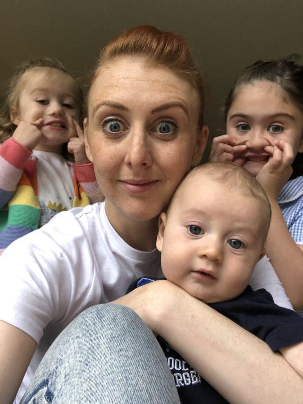 solo parenting three kids