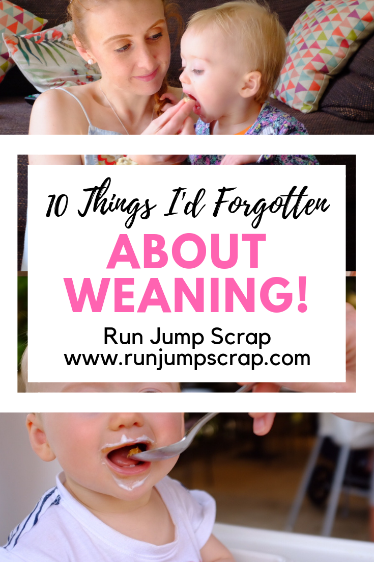 forgotten about weaning