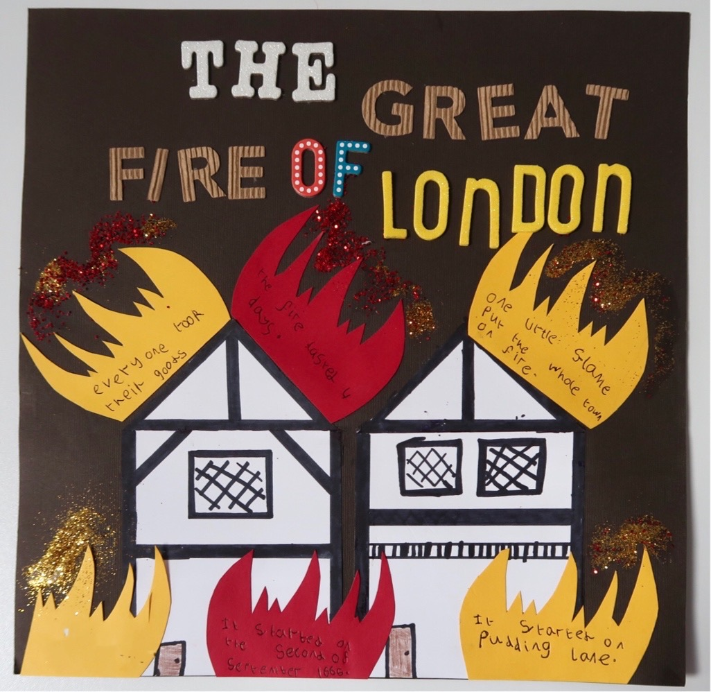 Great Fire Of London For Kids Ks1 Scrapbook Crafts
