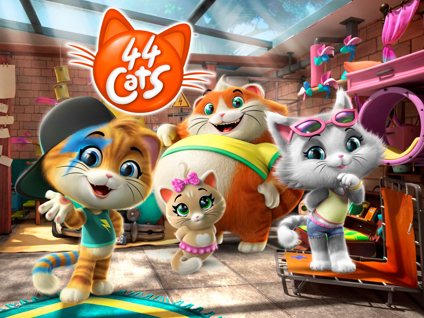44 Cats – A New TV Show for Kids