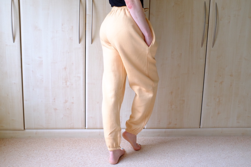 baggy joggers from femme-luxe finery