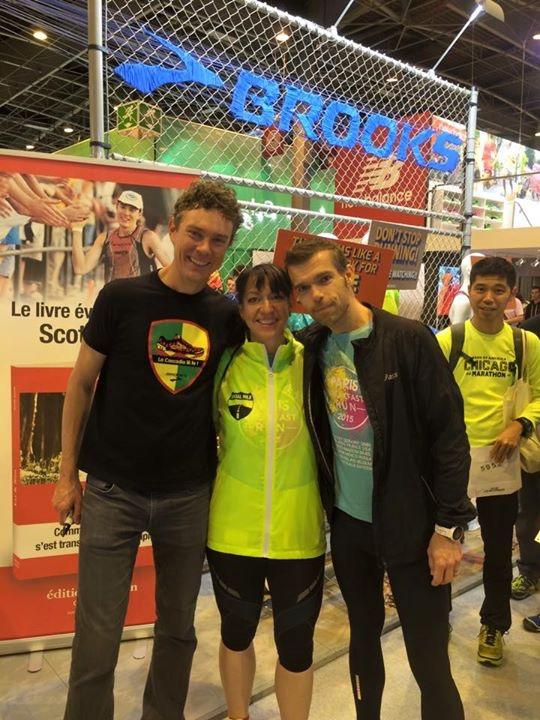 with scott Jurek