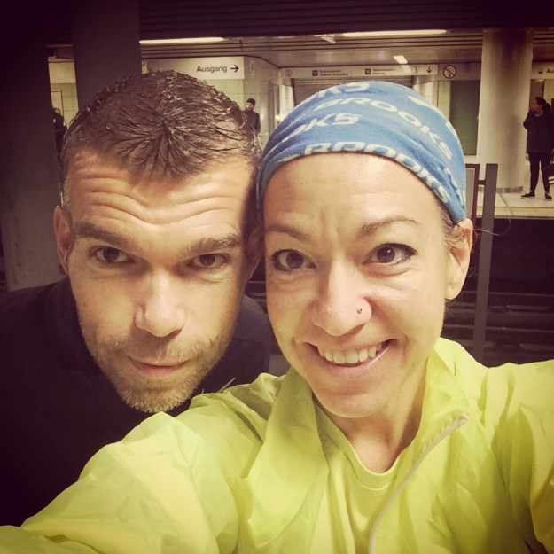 race morning selfie metro