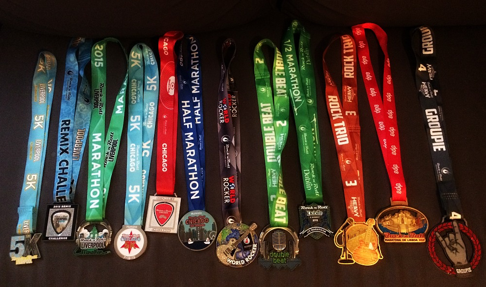 4 race weekends.  12 medals.  Like that was a hard decision!!! ha!