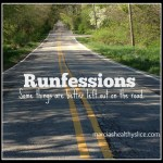 Friday Five : January Runfessions