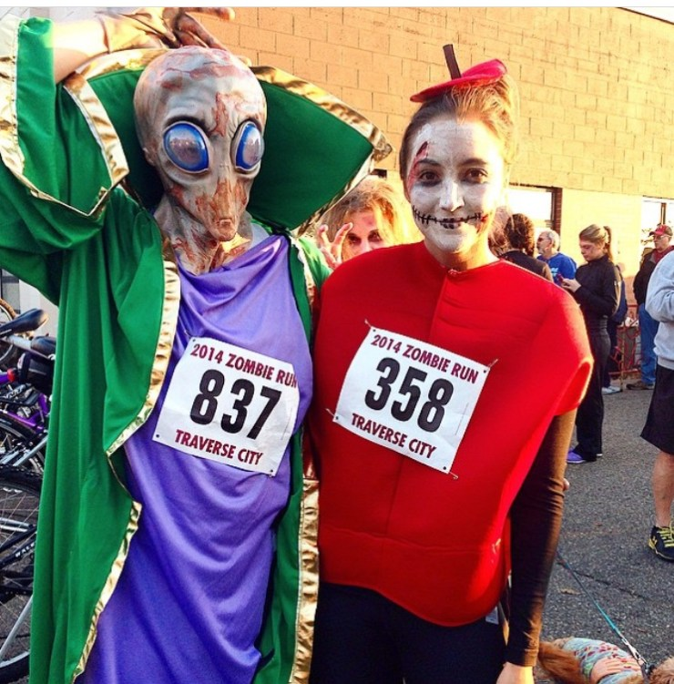 The Zombie Run: Why Themed Races are the Best - Run Leelanau