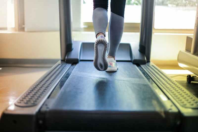 photo of person using treadmill