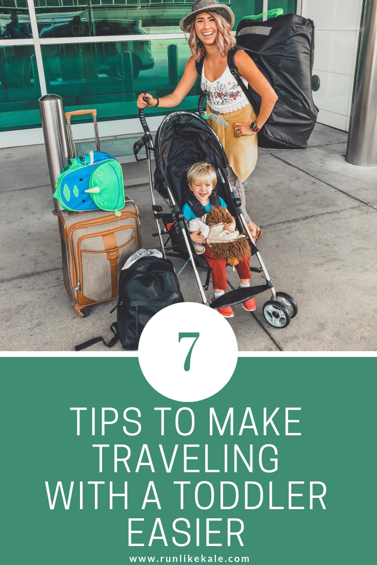 how to make traveling with a toddler easier