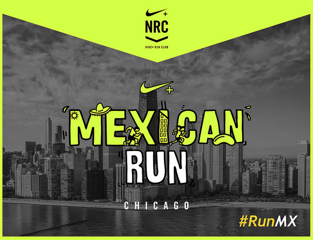 mexican run chicago foto bean cloud gate trote runmx