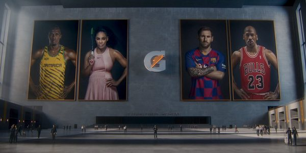 gatorade goat camp video comercial messi serena