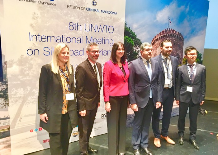 8th UNWTO International Meeting on Silk Road Tourism – Thessaloniki / Greece
