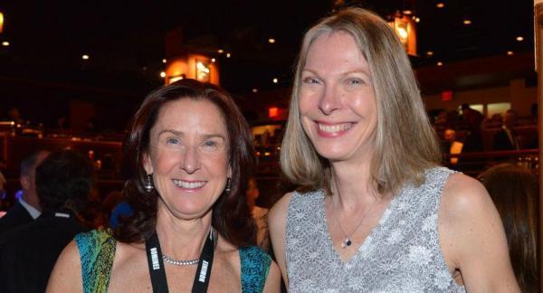 Karen and Jane with winning smiles!