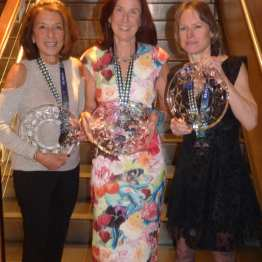 Rockstar women! Three NYRR Runners of the Year!