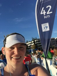 My 42km Selfie
