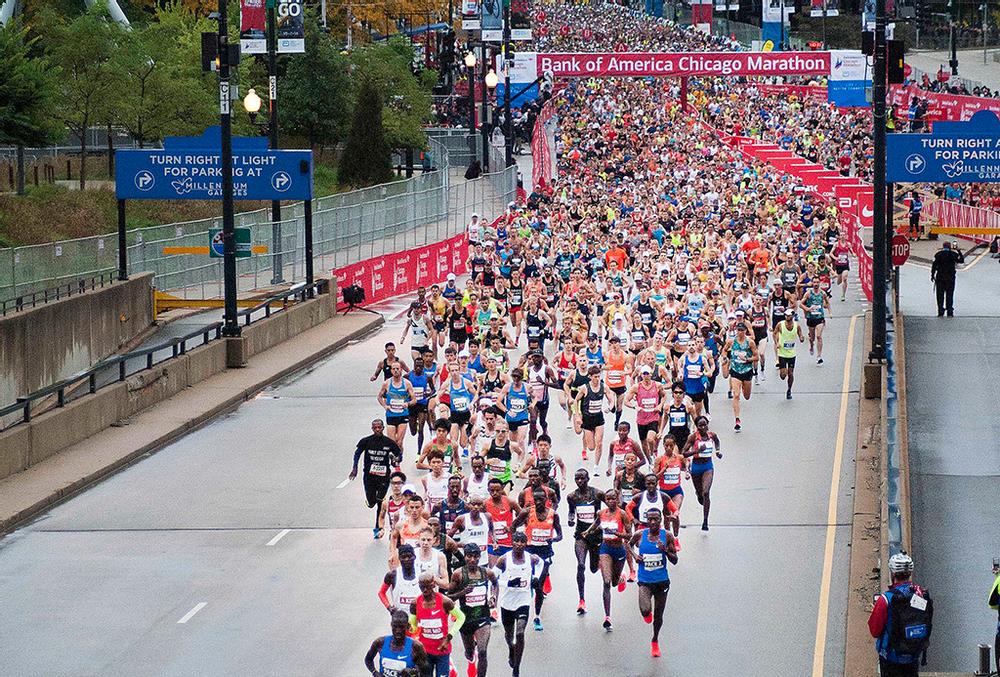 Ellos son los mexicanos más rápidos del maratón de Chicago