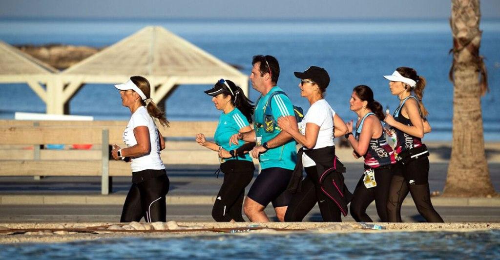 Correr el maratón virtual de Tel-Aviv es una experiencia imperdible