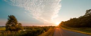 Running in the early morning or the late evening is a great way to avoid the sun during peak hours.