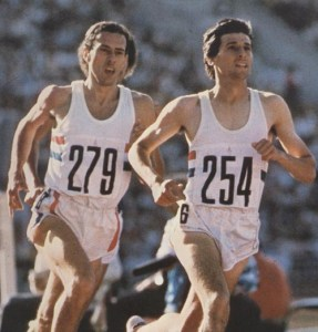 Sebastian Coe and Steve Ovett was one of the best examples of competition in sport.