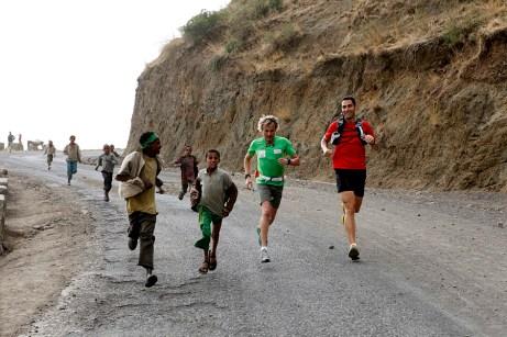 Entrenando en Etiopía