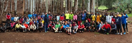 Equipo de Runners for Ethiopia 2015