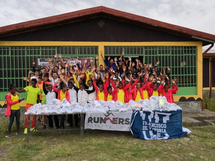 grupo runners for ethiopia 2018