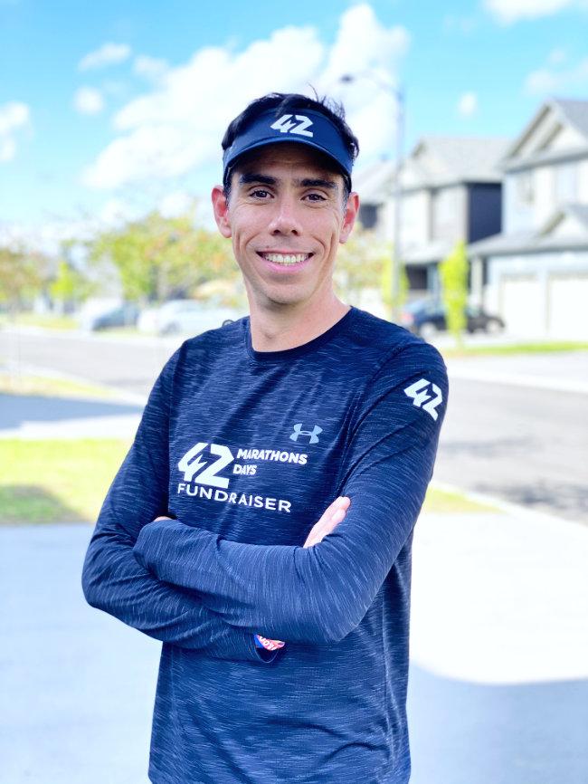 Diego Alcubierre - 42 Marathons
