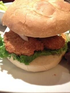 Soul chicken sandwich