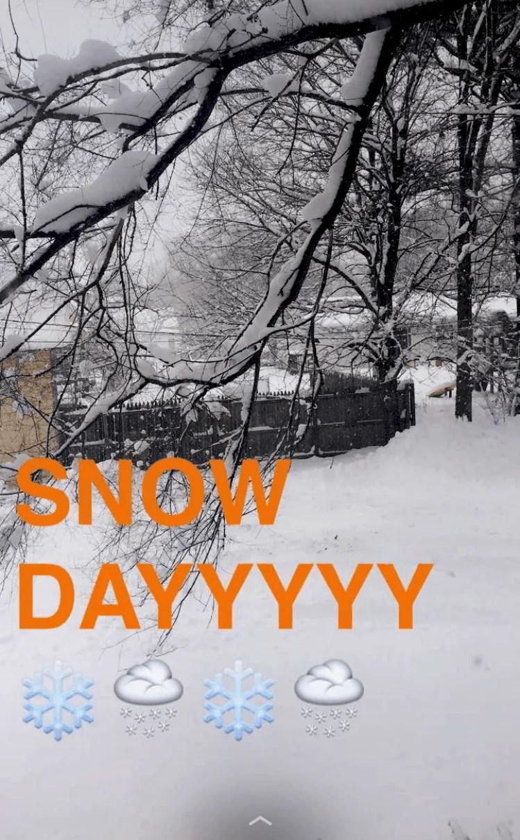 SNOW DAY :-)