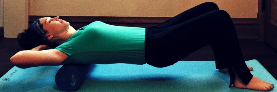 How to Relieve Back Pain with a Foam Roller