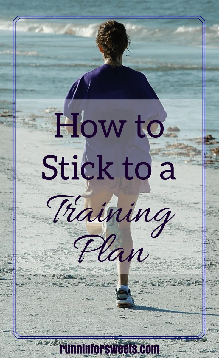Staying Active Stick to Training Plan