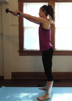 This at home dumbbell workout for arms is the best upper body strength training routine. Tone your arms and add muscle with these simple arm exercises. In just 15 minutes, this arm workout with dumbbells will help you feel the burn at home. Perfect for women and beginners looking to tone their arms in a short amount of time.
