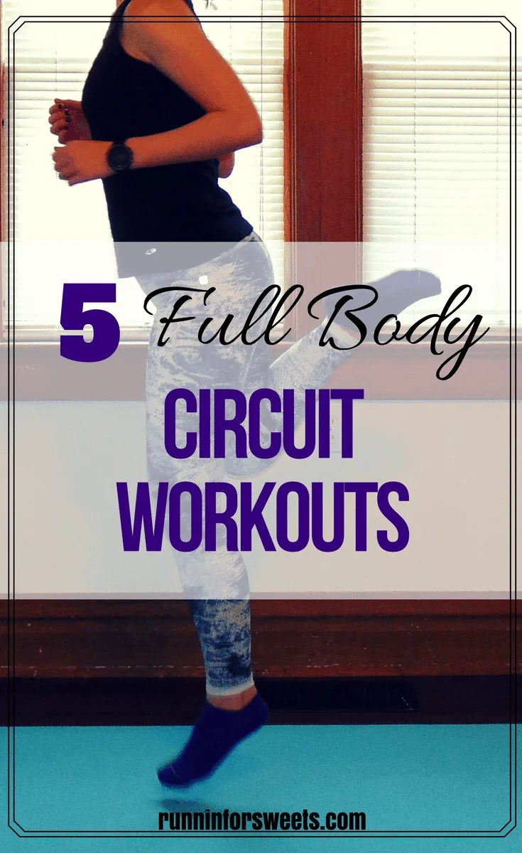 These 5 full body circuit workouts are sure to torch calories quickly. These workouts combine some of the most intense HIIT cardio moves into less than 30 minute workouts to give you the maximum fitness benefit in the least amount of time.