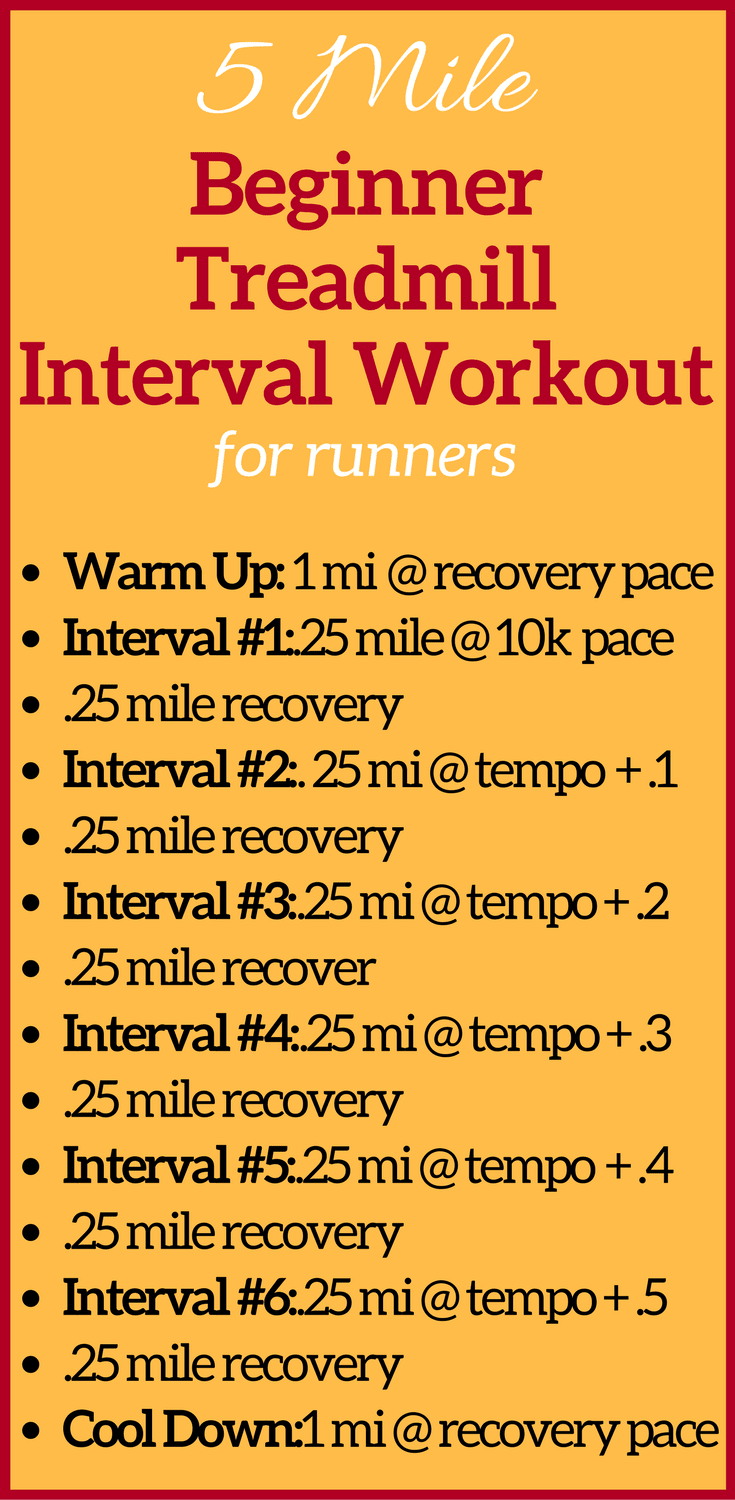 This treadmill workout for runners is the ideal running hit workout. Beat boredom with this running interval workout! It's fun and effective in a short amount of time. Treadmill workouts are a great way to increase your speed without spending hours at the gym. This interval work out is a must do for runners of all levels – whether you're beginner or advanced! #treadmillworkout #runningworkout #hiitworkout