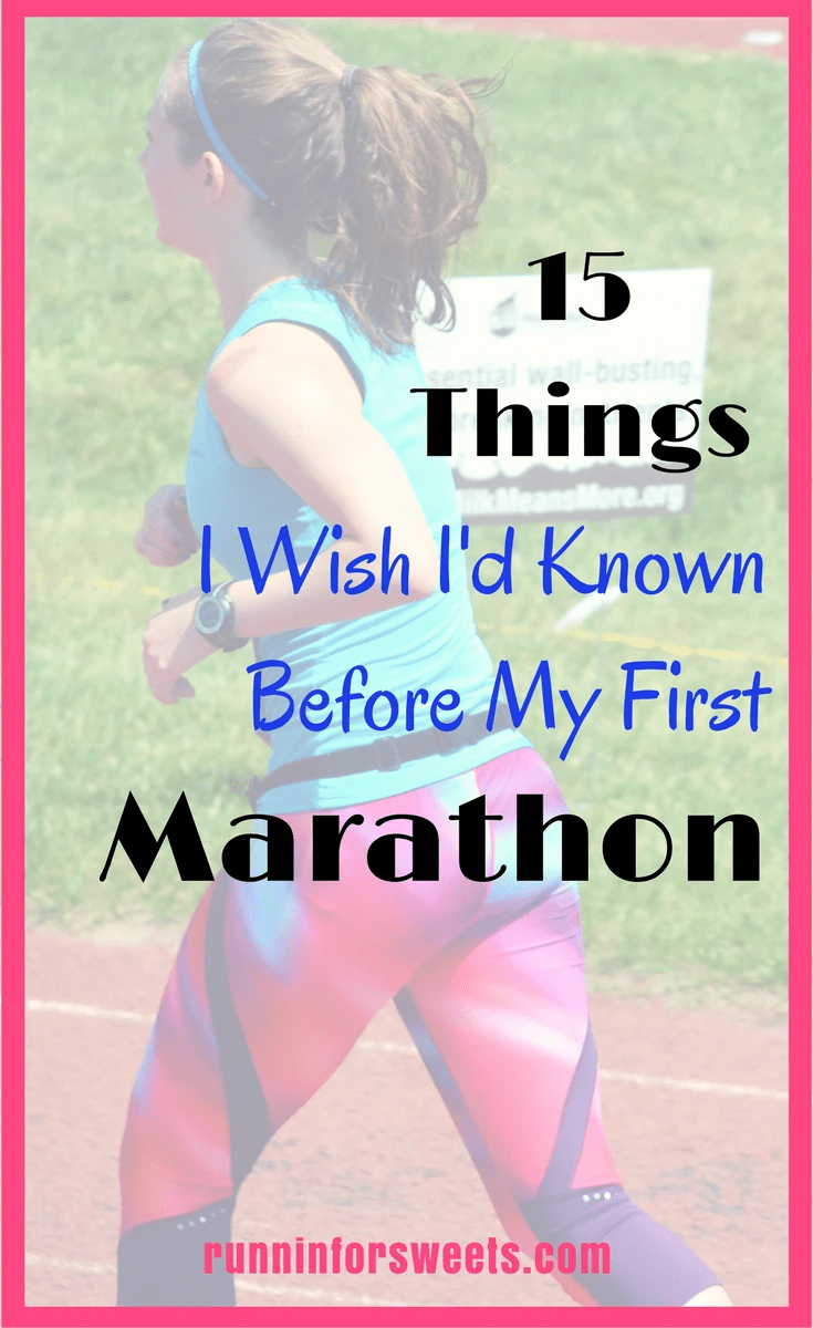 15 Things I Wish I'd Known Before My First Marathon | Tips for Running Your First Marathon | Running a Marathon for Beginners