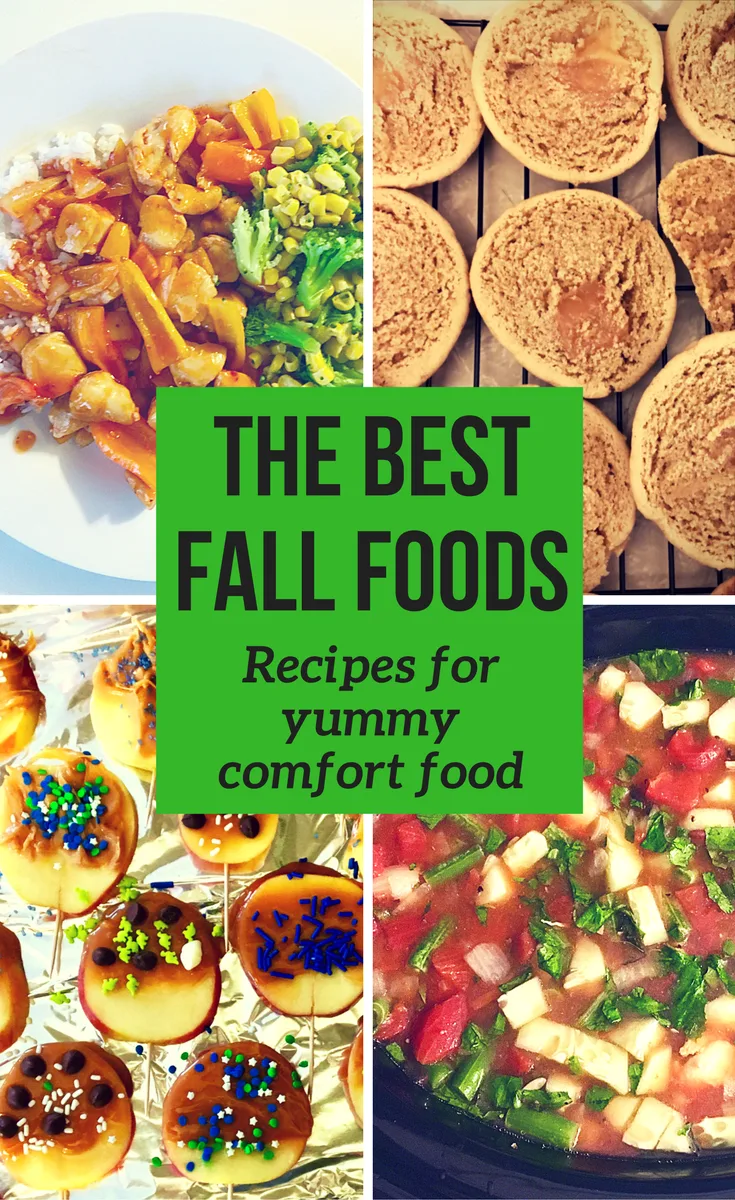 October Fall Comfort Foods