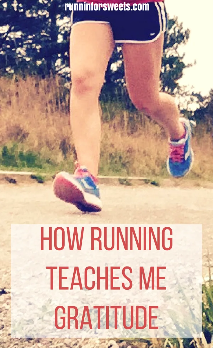 Running Taught Me to be Thankful