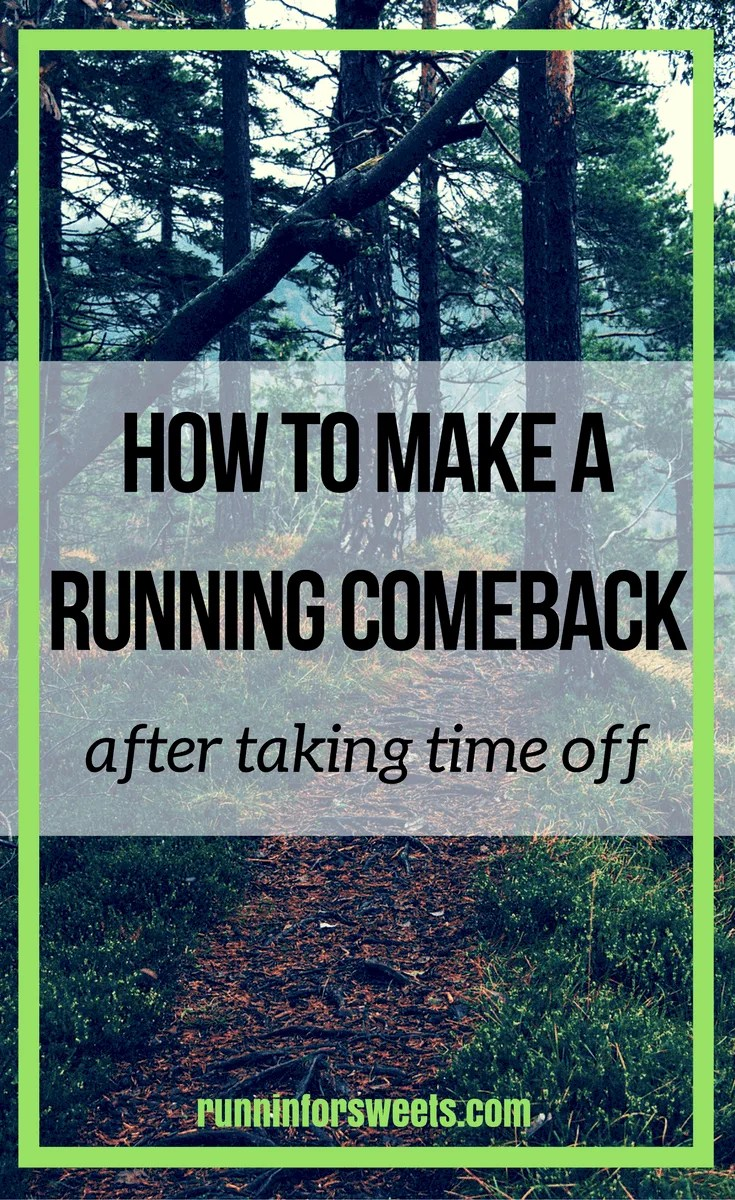 Making a Running Comeback After Time Off