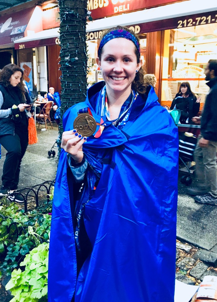 NYC Marathon Finisher