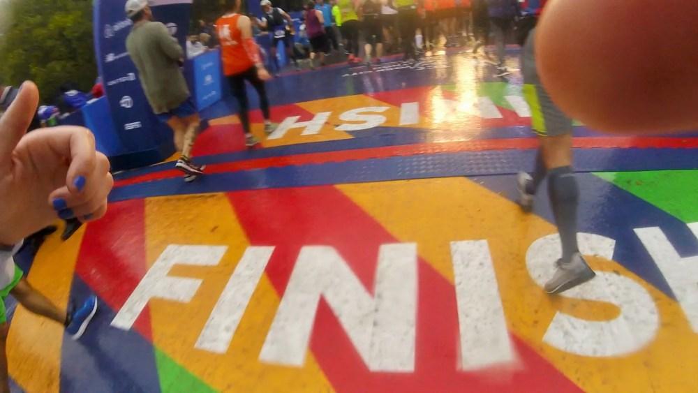 NYC Marathon Finish