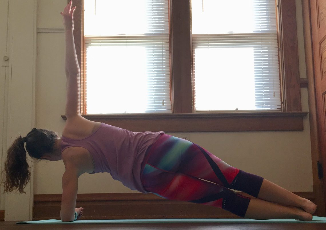 Thanksgiving Workout Side Plank