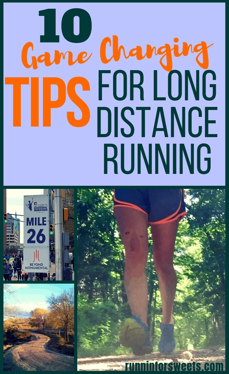 These long distance running tips will help any runner during marathon training or just as you're beginning to increase your mileage. Check out this article for all the secrets to successful long distance training for life! #longdistancerunning #runningtips #marathontraining