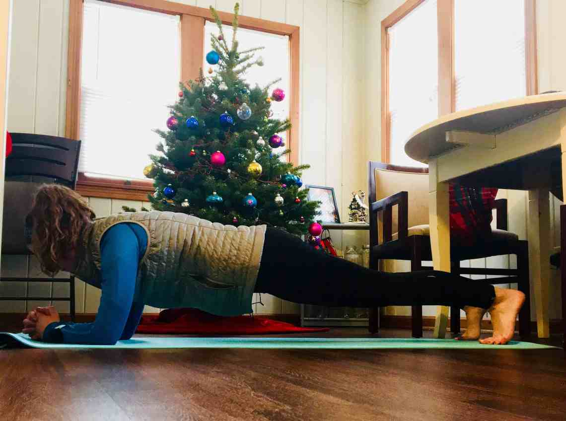 Christmas Workout Plank